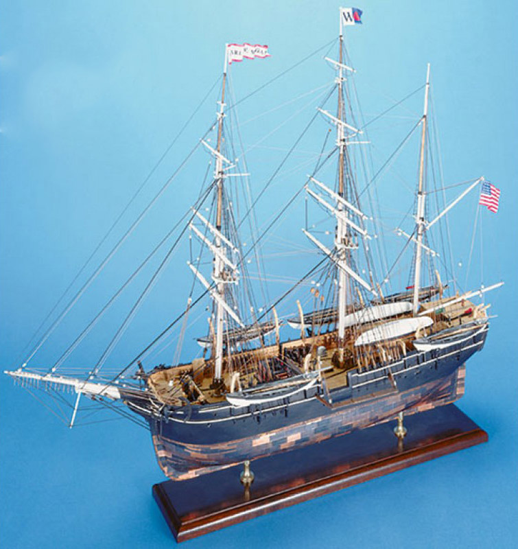 CHARLE  W  MORGAN  MODEL SHIPWAYS   NYjpg