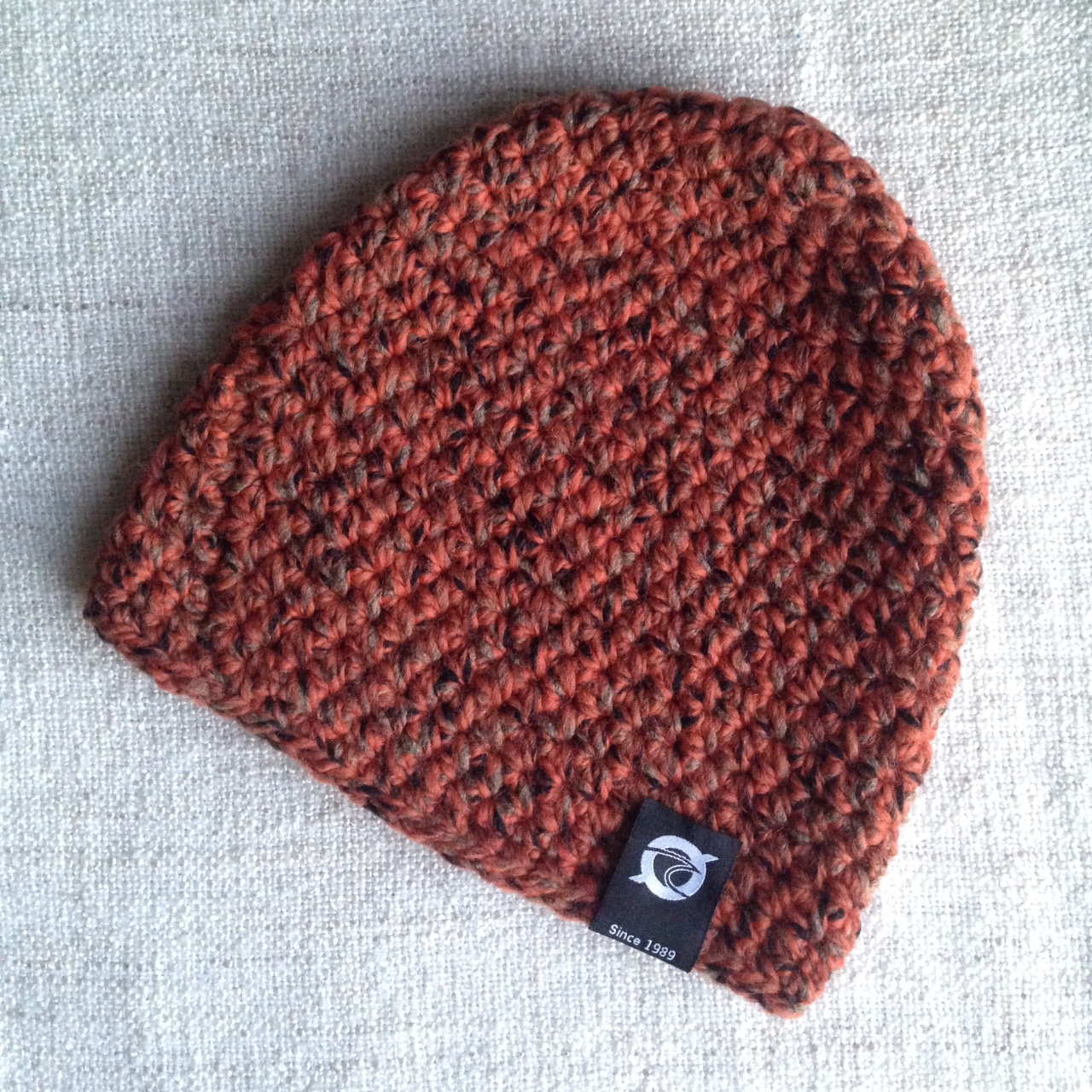 Klitmøller Beanie: Storm Unica - Orange Dust