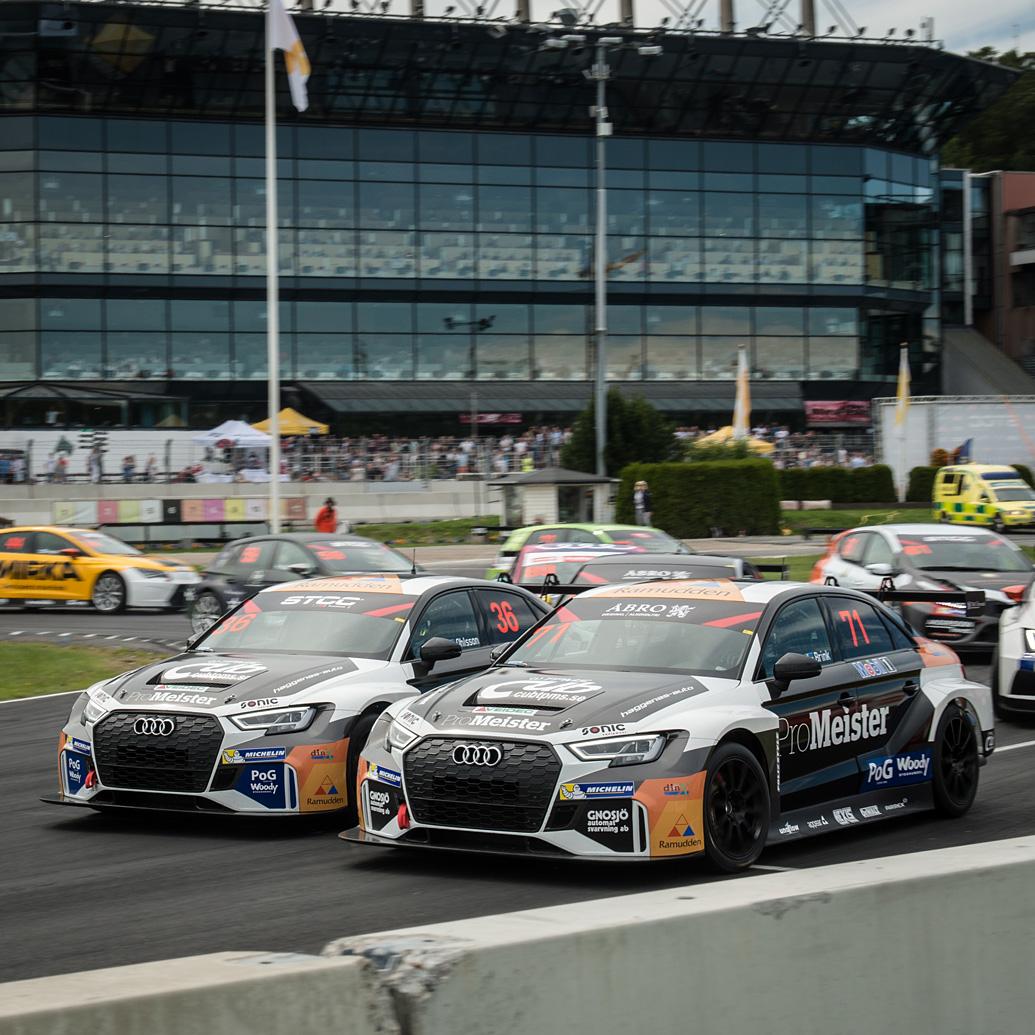 Racing duellen som kom av sig