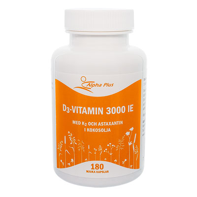 D3 vitamin 3000 IE + K2 120 kap