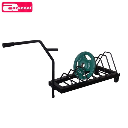 DB5026 Weight plates rack for diameter 50mm, 5 spo