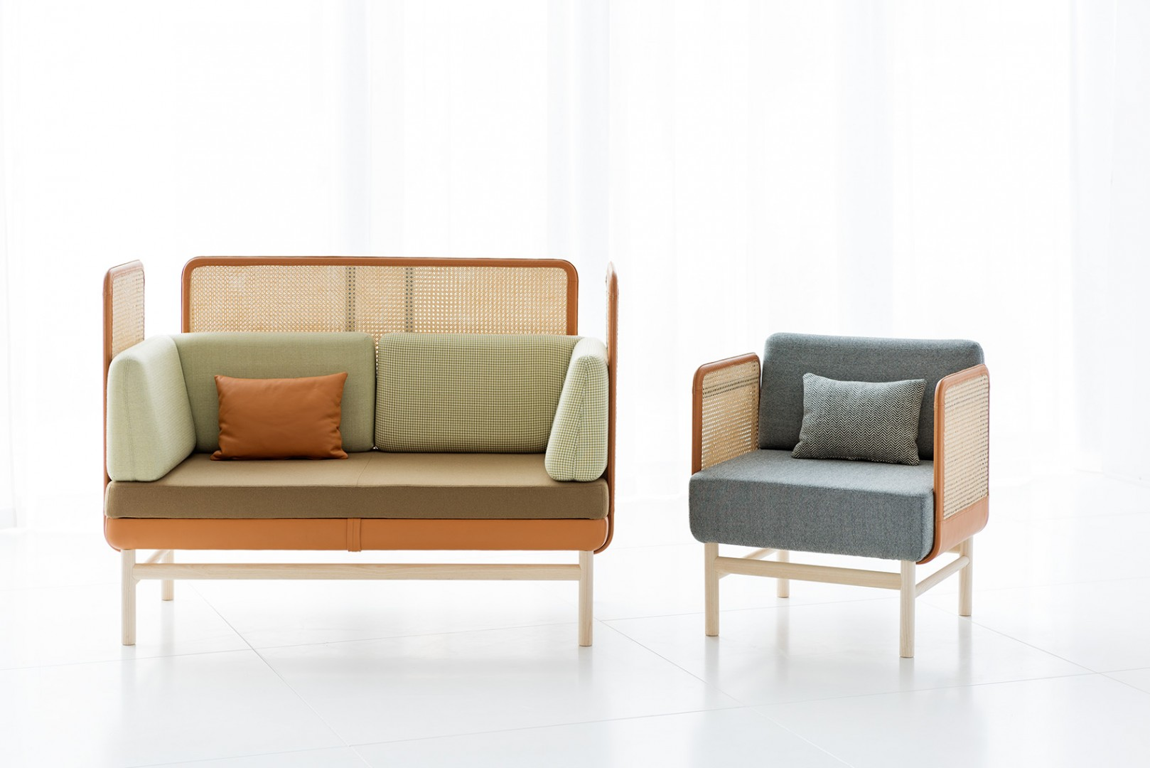 PoP sofa and easychair